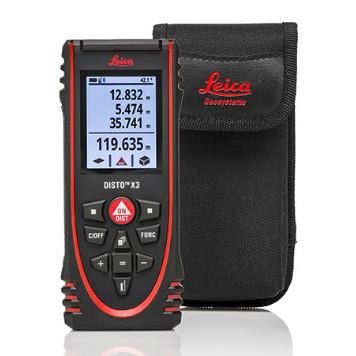 Leica DISTO™ X3 - Laser Distance Meter
